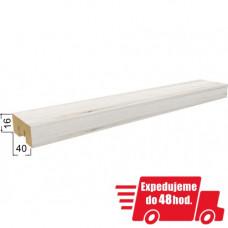 Stenová lamela STELLA BRION - dub biely San Remo 2700x16x40mm
