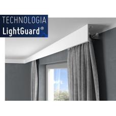 Garnižová krycia lišta MARDOM QL026 / aj pre LED podsvietenie