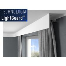 Garnižová krycia lišta MARDOM QL036 / aj pre LED podsvietenie