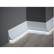 Lišta pre LED osvetlenie MARDOM lakovaná QL007P / 9,5cm