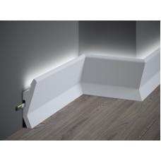 Lišta pre LED osvetlenie MARDOM lakovaná QL014P / 13cm