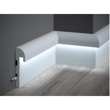 Lišta pre LED osvetlenie MARDOM lakovaná QL015P / 14,8cm