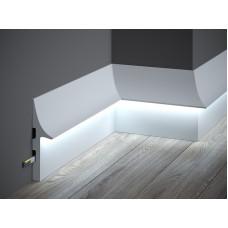 Lišta pre LED osvetlenie MARDOM lakovaná QL008P / 15cm